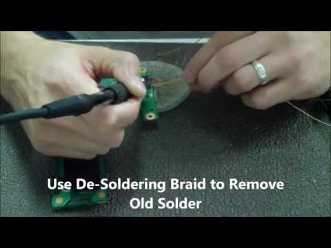 Dell Inspiron N5010/15R/P10F DC Power Jack Repair | How To ...