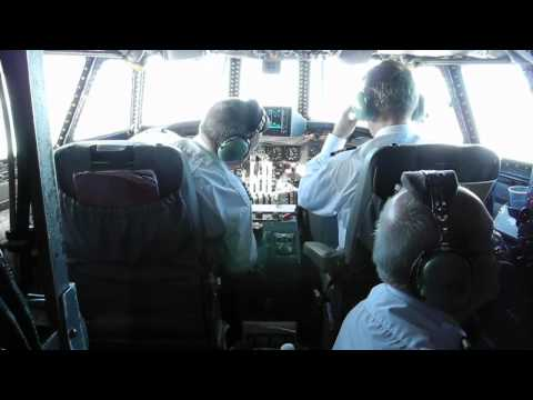 Breitling Super Constellation Cockpit Flight