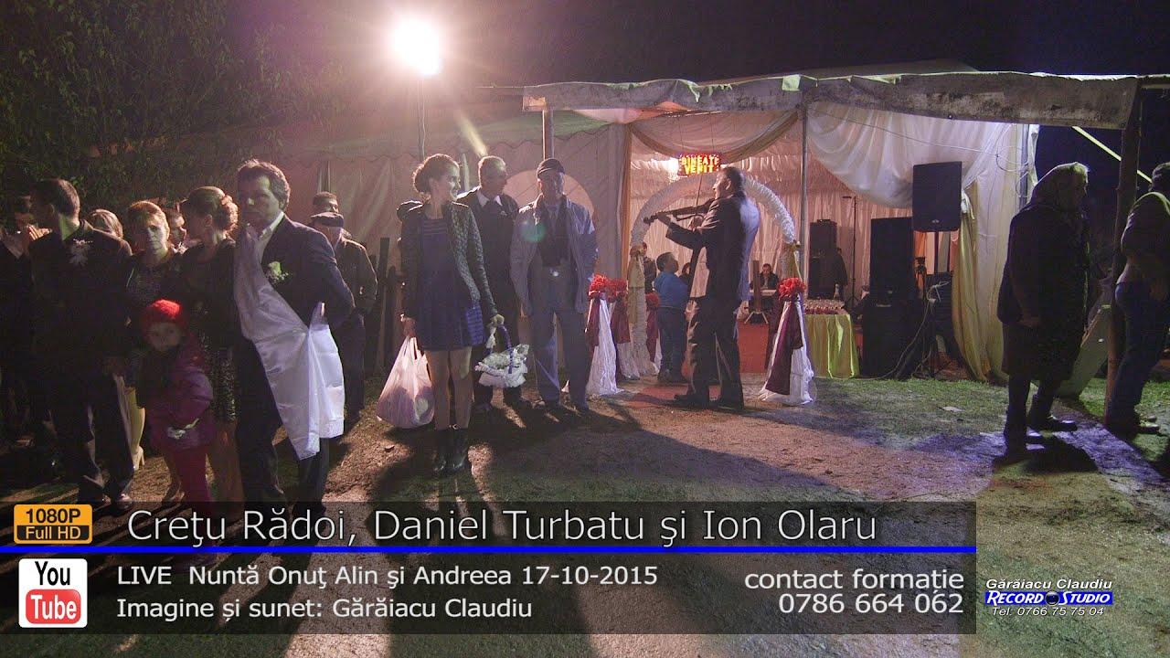 Cretu Radoi si Ion Olaru SARBA part.1 LIVE Nunta Onut si Andreea 17-10-2015