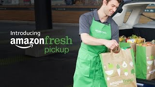 Introducing AmazonFresh Pickup: Groceries delivered to your trunk