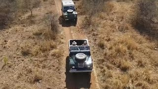 Land Rover Series in Africa