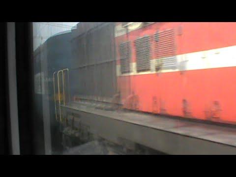 NCR Twist!! Skipping Etawah & overtaking WDG-3A Udhampur Kanpur Weekly: WDM-3D Ajmer Special