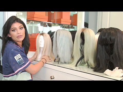 Kylie Jenner Shows Off Her Wig Collection & Gives Tour Of Glam Room