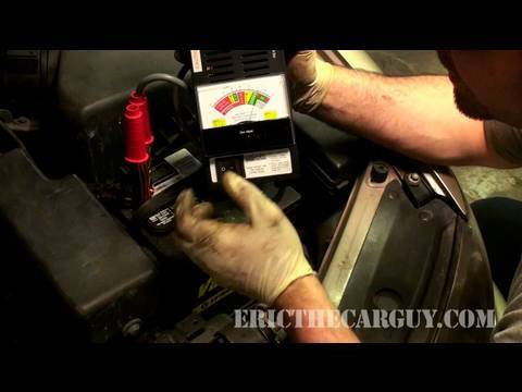 Load Testing A Battery - EricTheCarGuy