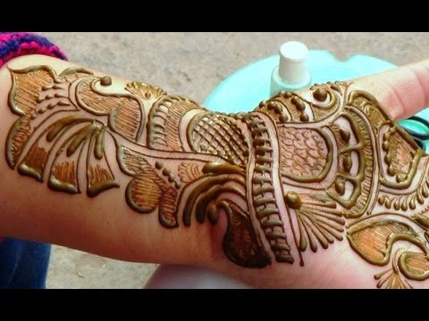 Best Indian Arabic Henna Mehendi 2014:Bridal Makeup Shringar...