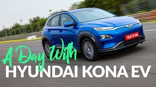 Hyundai Kona EV Driven | एक पूरा दिन EV ⭐Kona के साथ
