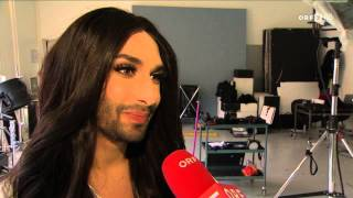 Conchita Wurst - Lifeball Plakat