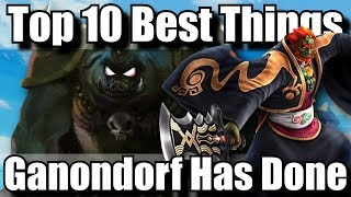 Top 10 Best Things Ganondorf / Ganon Has Ever Done