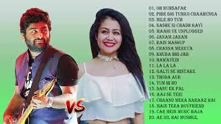 अरिजीत सिंह, नेहा कक्कर न्यू हिट सांग 2019 - नवीनतम बॉलीवुड रोमांटिक गीत - ऑडियो ज्यूकबॉक्स
