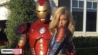Kylie Jenner THROWS Travis Scott An AVENGERS: ENDGAME Birthday Party!