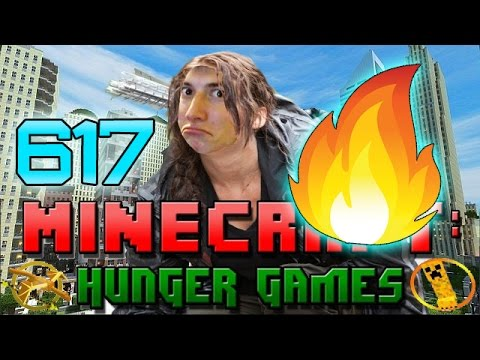 Minecraft: Hunger Games w/Bajan Canadian! Game 617 - FIRE OF DOOM!