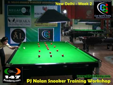 147 Academy - Cue Sports India Snooker Training Workshop Week 2 full video