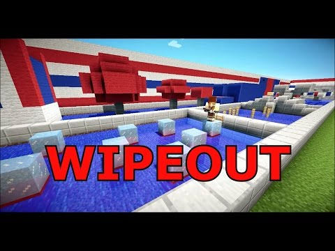 MInecraft TOTAL WIPEOUT Parkour Challenge