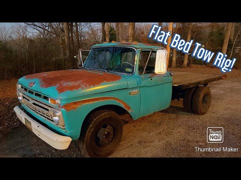 1966 Field Find F350 Hits the Road for the First Time in 31 Years! Build Part 2