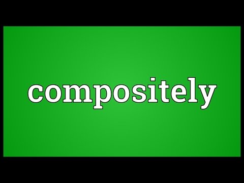 Header of compositely