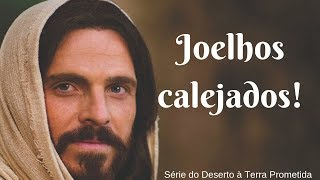 A VITÓRIA ESTÁ NOS SEUS JOELHOS - (aprenda com Jesus)