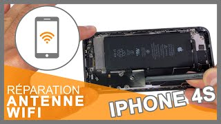 Tuto: Changer Antenne Wifi et Bluetooth iPhone 4S