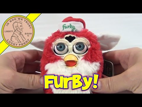 Christmas Furby Limited Edition 128.648 of 500.000 - 1999 Tiger Electronics