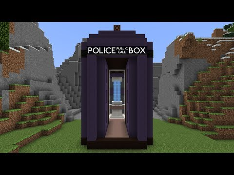 Doctor Who's TARDIS in Minecraft - it's bigger on the inside!