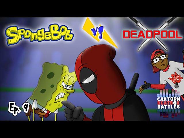 Spongebob vs Deadpool - Cartoon Beatbox Battles thumbnail