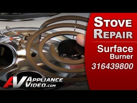 Surface Burner - Stove / Oven or Range Repair (Electrolux # 316439800 Replacement Part)