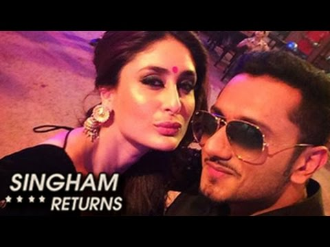 Yo Yo Honey Singh & Kareena Kapoors NEW SONG in Singham Returns...