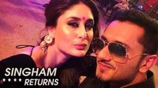 Yo Yo Honey Singh & Kareena Kapoors NEW SONG in Singham Returns