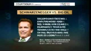 Governor Schwarzenegger on big oil and class warfare