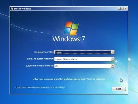 How to install Windows 7 | 32/64 BIT | Step by step procedure ( தமிழ்)