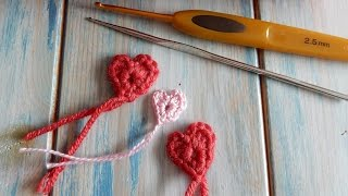 How to Crochet a Tiny Heart