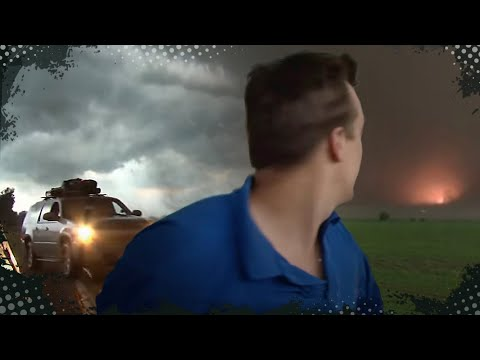VIDEO INSIDE A TORNADO!!!  Aurora, NE Tornado, June 17, 2009