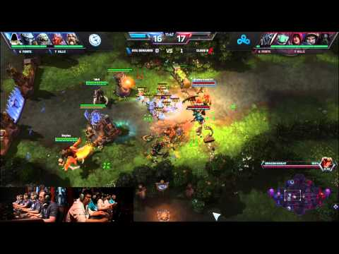 Evil Geniuses vs. Cloud 9 -Finals- Heroes of the Storm Exhibition Tournament 2014