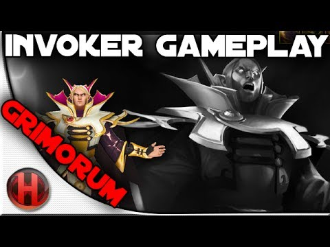 Dota 2 - Invoker Gameplay by Grimorum