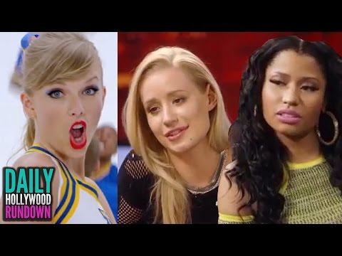 Taylor Swift Awkward 'Shake It Off' Video - Iggy Azalea & Nicki Minaj PISSED At James Franco (DHR)