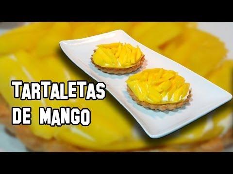 Recetas de Cocina | Como Hacer Tartaletas de Mango