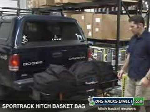 Sportrack Cargo Basket Sportrack Hitch Basket Bag