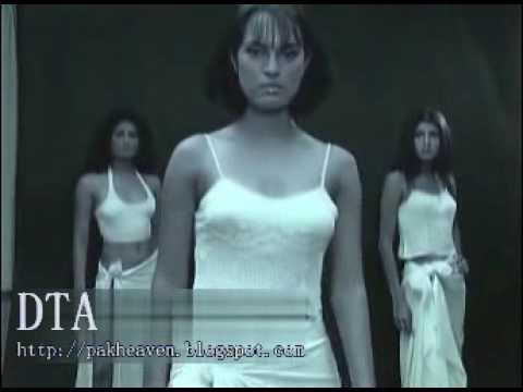 Pakistani Models Vinny Nadia Gia - Hot Nighty Cat Walk