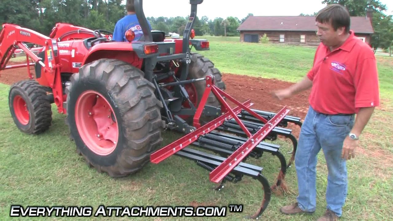 How To Use A Ripper Field Cultivator Gardening Series