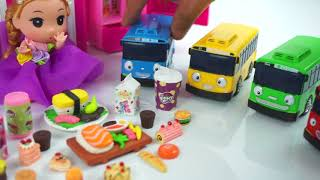 Baby dolls    Barbie doll    Tayo toys episode part 7