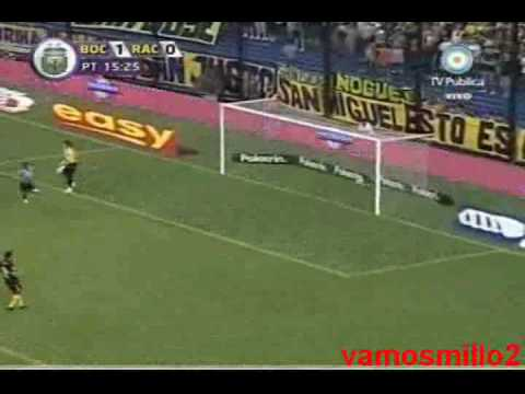 Boca 1 Racing 2 - Torneo Clausura 2010