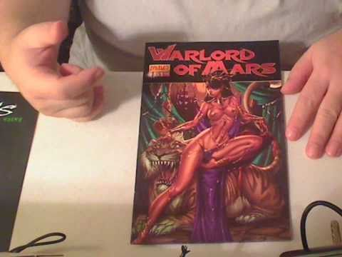 warlord of mars 1 review