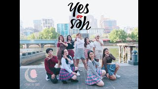 [KPOP IN PUBLIC + 2X SPEED CHALLENGE] TWICE (트와이스) YES OR YES- Dance Cover by CHIC-N-LTTL