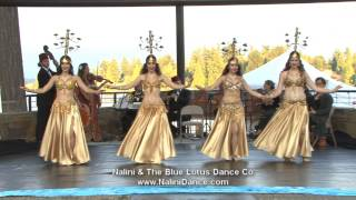 Ala Bali by Nalini & Blue Lotus group candelabra belly dance