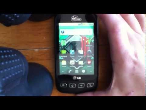 how to Root & Tether the LG optimus V in 1 touch