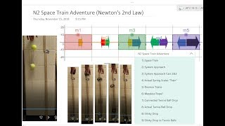 Space Train Adventure (Newton's 2nd Law)