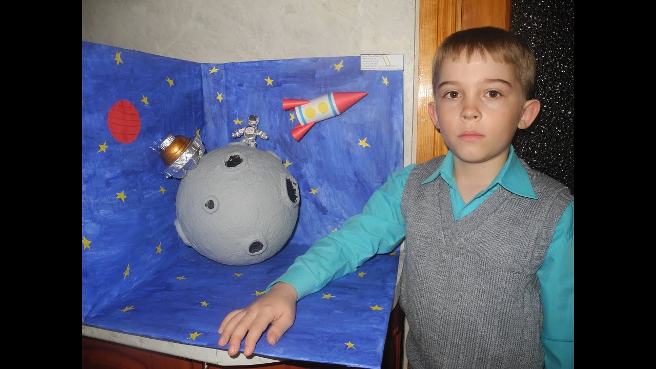 Поделки для космоса фото
