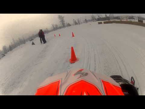 120 Snowmobile Racing