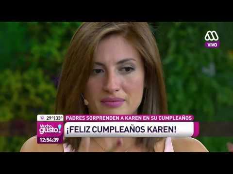 La sorpresa para Karen en su Cumpleaños - Mucho Gusto