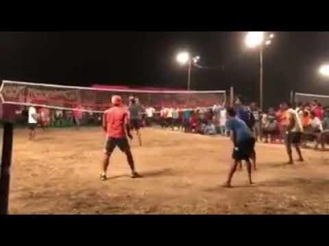 Sootingh vollball match Punjab vs mp danger match