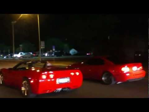 Corvette vs Cobra (Harlingen TX)